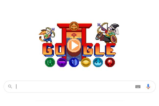 Google'dan Olimpiyatlara Özel Doodle