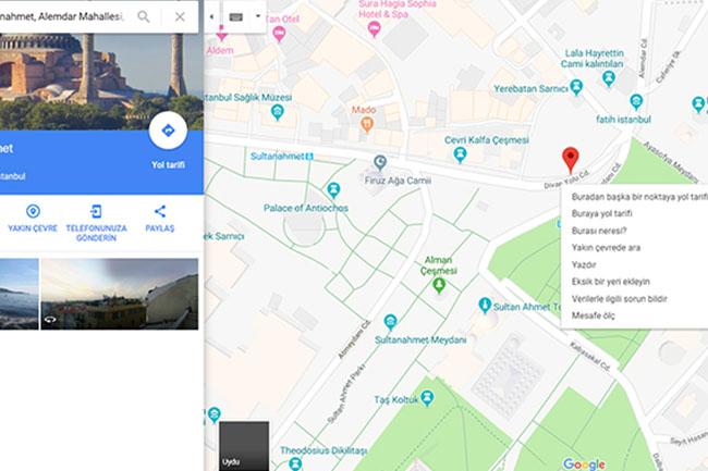 Google Haritaların Az Bilinen 16 Özelliği!