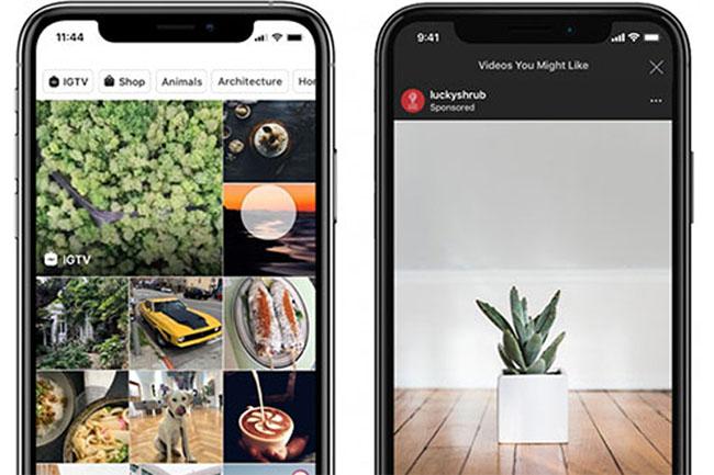 Instagram, Keşfet Sayfasına Reklam Alıyor!