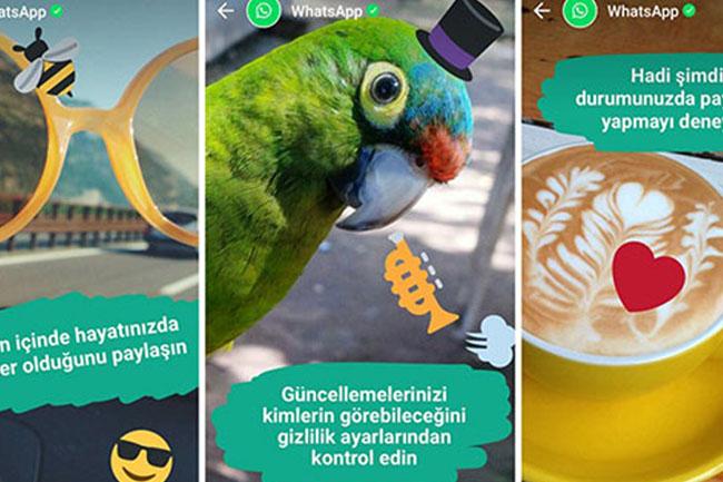 WhatsApp Hikayeleri, Facebook ve Instagramda da Paylaşılabilecek!
